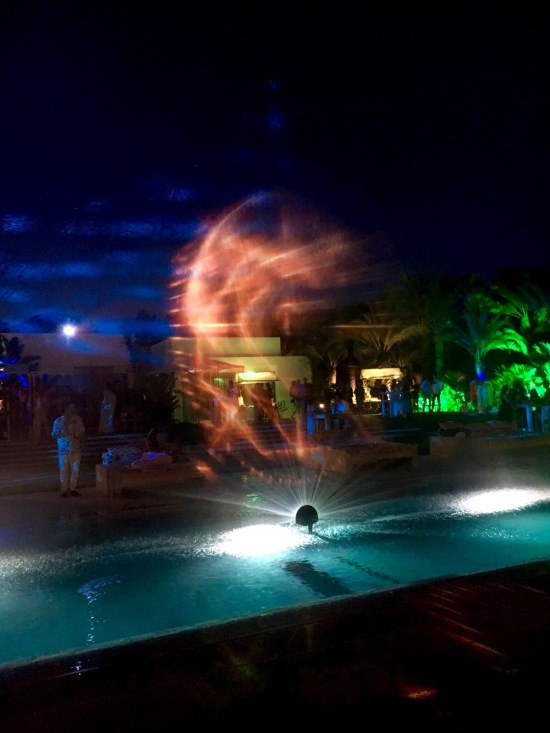 pool party lightshow ibiza