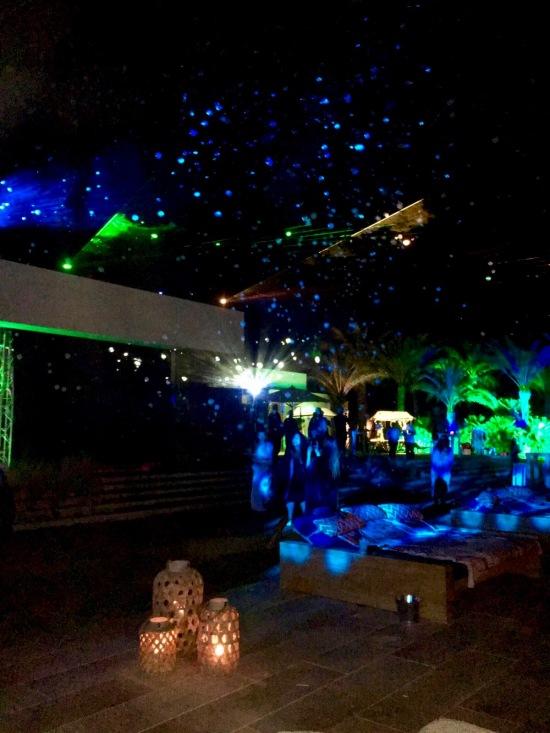 lightshow ibiza party