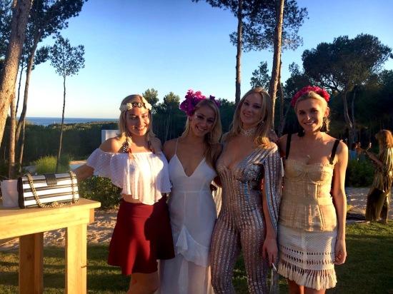 girls ibiza party